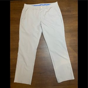 Light Gray Bonobos Tailored Golf Pants - 33 x 30